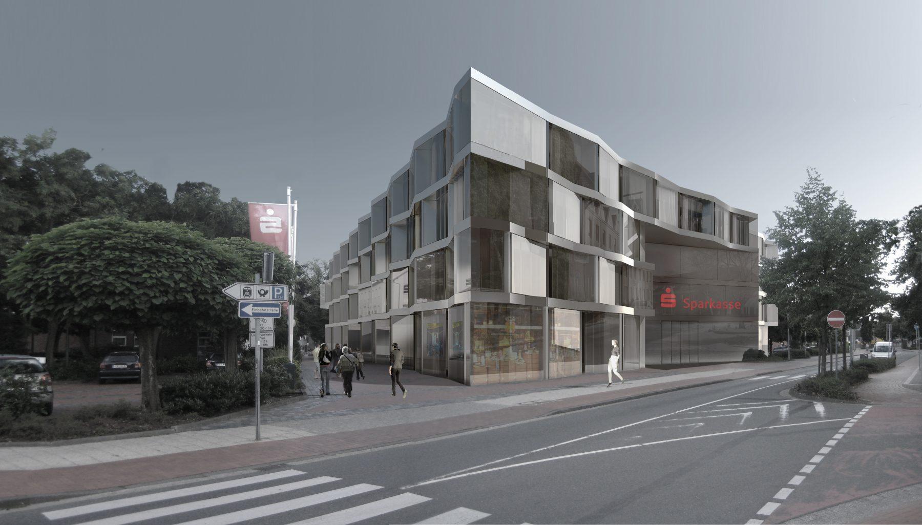 Sparkasse leer wittmund bundschuh architekten - Architekturburo berlin ...