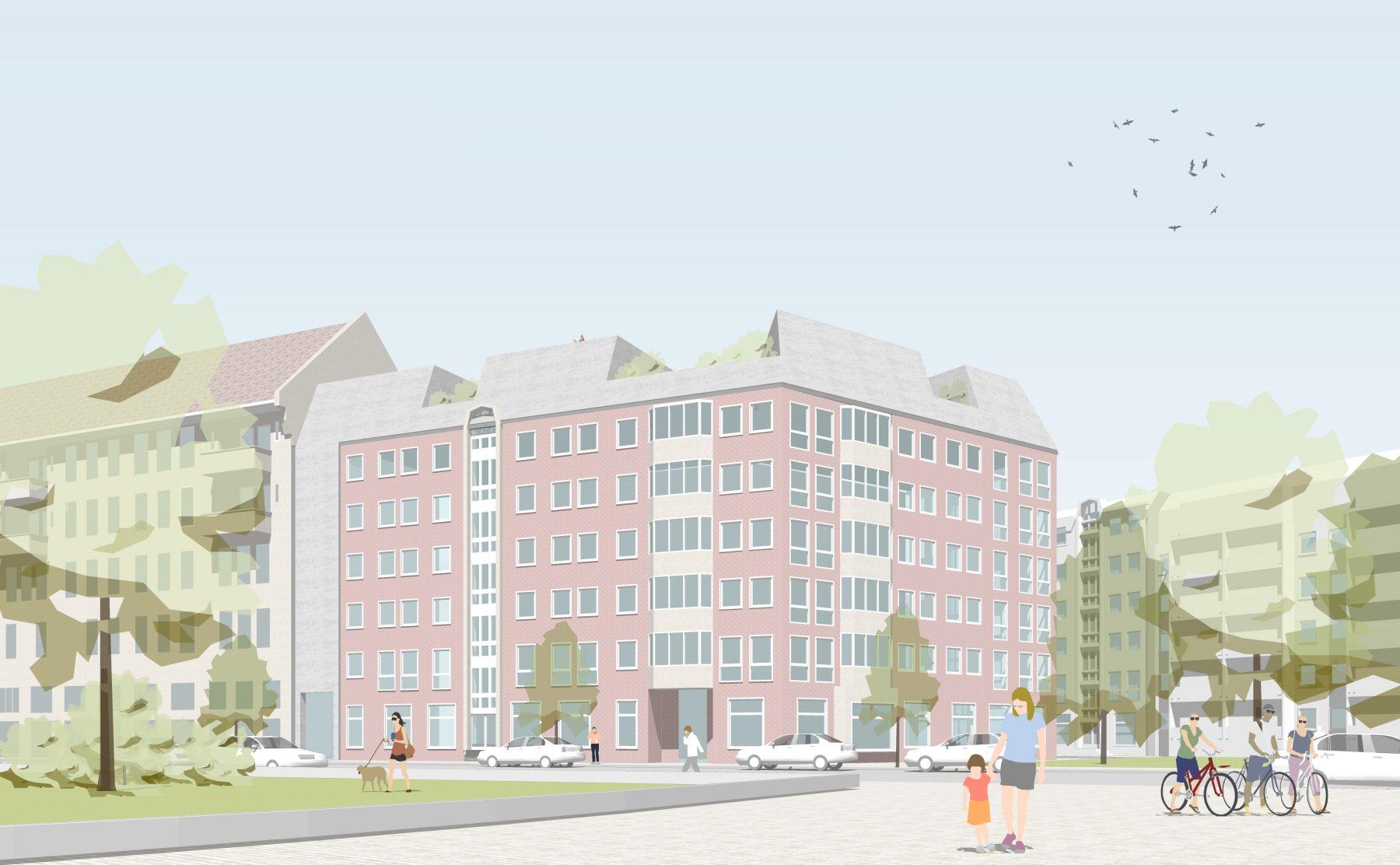 Almstadtstrasse dachgeschoss bundschuh architekten - Architekturburo berlin ...