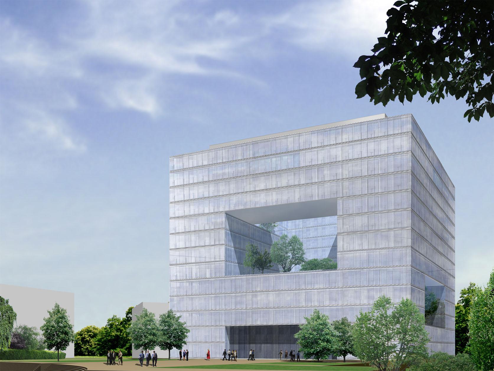 Eurohypo bundschuh architekten - Architekturburo berlin ...