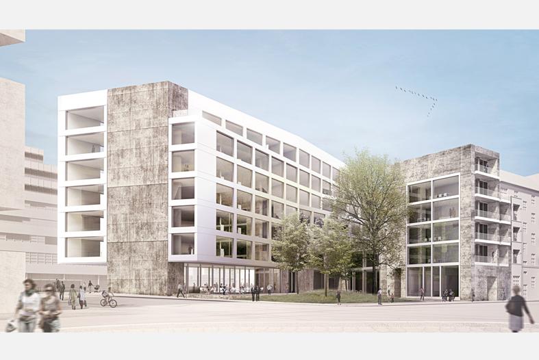 Baugenehmigung f r neues suhrkamp verlagshaus am rosa - Architekten luxemburg ...
